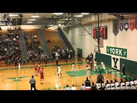 Highlights: Hinsdale Central @ York - Boys Basketball
