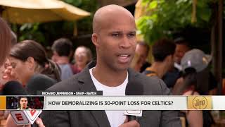 How demoralizing is a 30-point loss for the Boston Celtics? | The Jump | ESPN