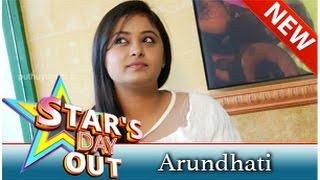 Arundhati - Actress Arundhati in Stars Day Out (20/09/2014)