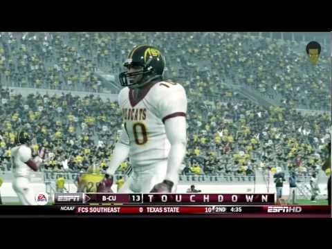 Online Dynasty Gameplay  Bethune-Cookman   Alabama State 3rdQtrIsaiah Crowell Bama State