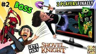 THROW MOM IN THE GAME!  Let's Play SHOVEL KNIGHT #2:  Specter Knight Boss Battle (FGTEEV Sillyness)