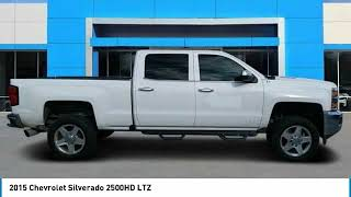 2015 Chevrolet Silverado 2500HD 2015 Chevrolet Silverado 2500HD LTZ FOR SALE in Swansboro, CA SP1220