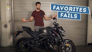 2018 Suzuki GSX-S1000Z - Favorites & Fails