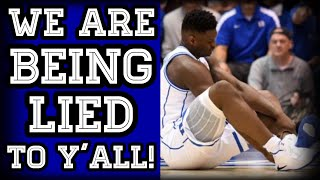 What They WON'T Tell You ABOUT ZION WILLIAMSON'S INJURY!