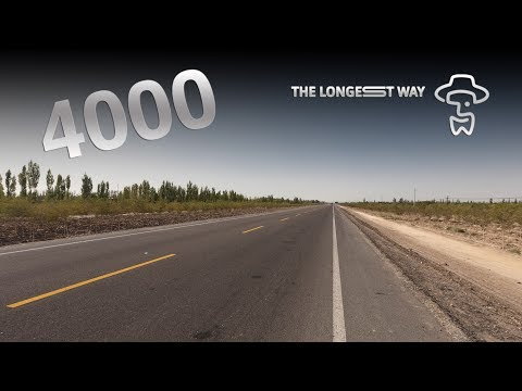 "The Longest Way ""4000km dance"" (near Hami)"