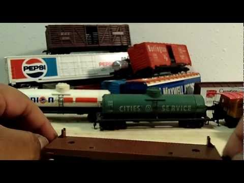 Model Train Haul - HO scale *Tyco*