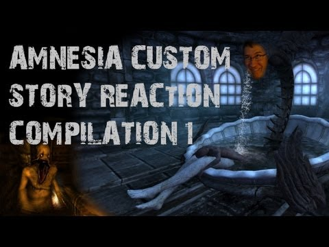 Amnesia Custom Story Reaction Compilation #1