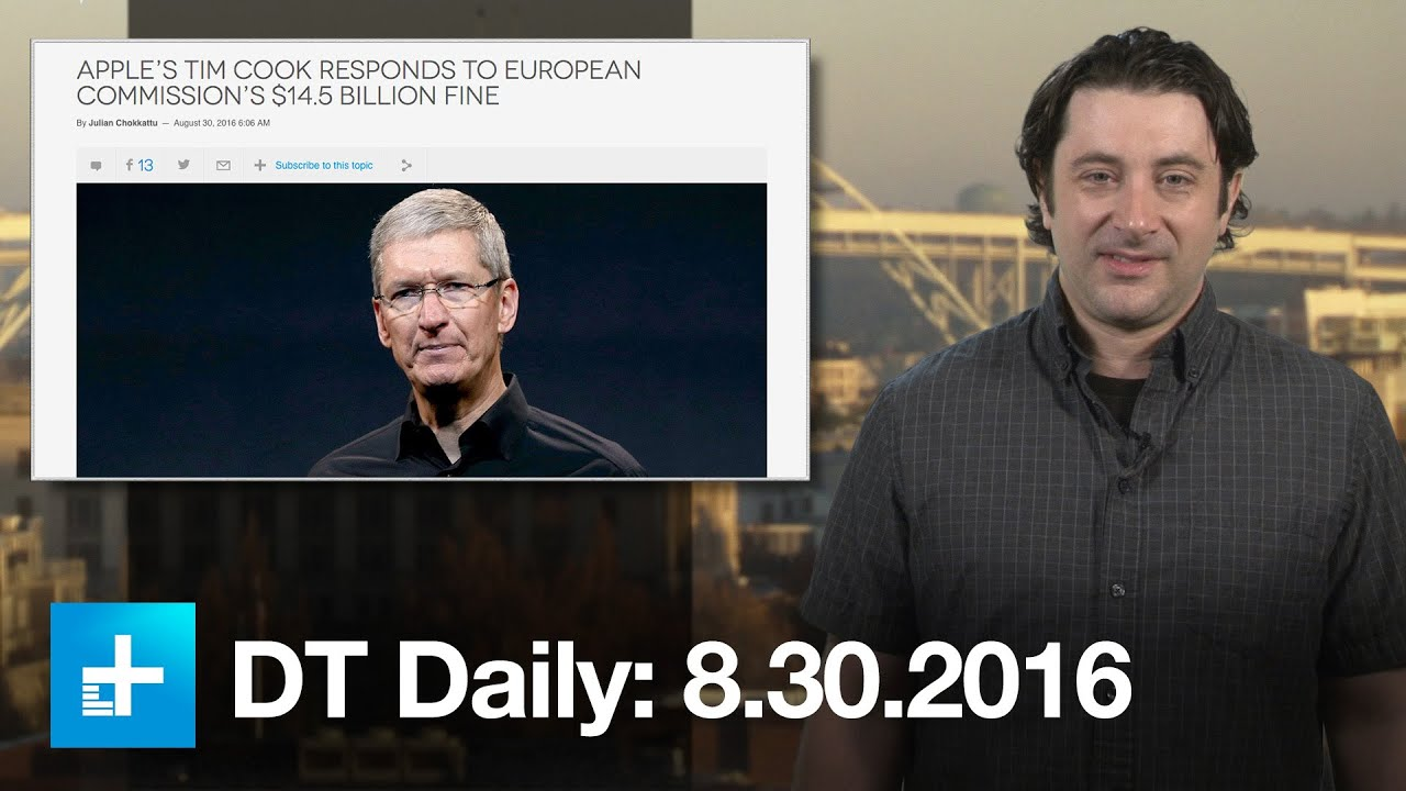 Apple hits back at $14.5B tax bill as iPhone 7 reveal nears