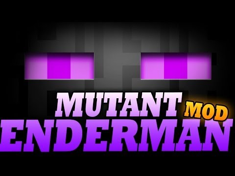 """Minecraft Mod   MUTANT ENDERMAN MOD - """"A Force to be Reckoned with!"""" - Mod Showc"""