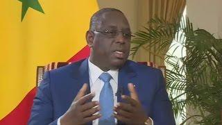 Macky Sall : ''La médiation de la Cédéao permettra à Yahya Jammeh d'entendre raison''