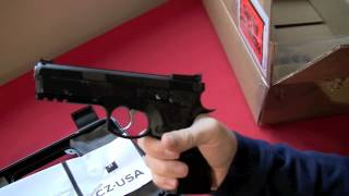 CZ 75 SP-01 Shadow Target - Unboxing