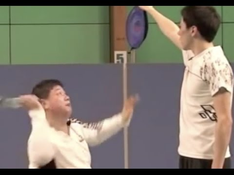 Badminton Smash Skill (8) What And How To Practice To Make Smash Powerful video