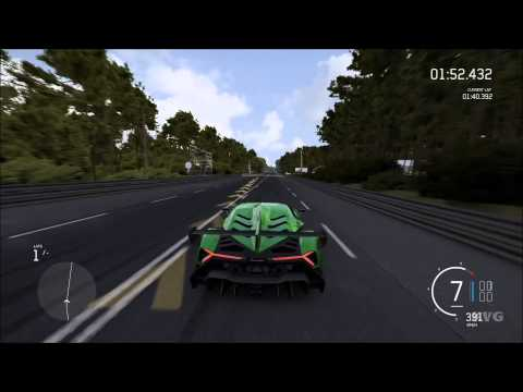 Forza Motorsport 6 - Lamborghini Veneno 2013 | Top Speed 399 KMH (XboxONE HD) [1080p60FPS]