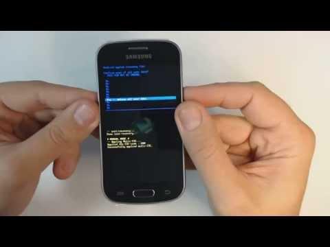 Samsung Galaxy Trend Lite S7390 hard reset
