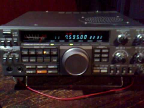 radio farda in west Europe ( kenwood R 5000 with a 35m longwire antenna )