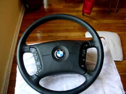 Pt. 1 BMW Heated Steering Wheel Retrofit from a 2006 X3 to any E46 3 Series.