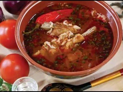 Супы по грузински