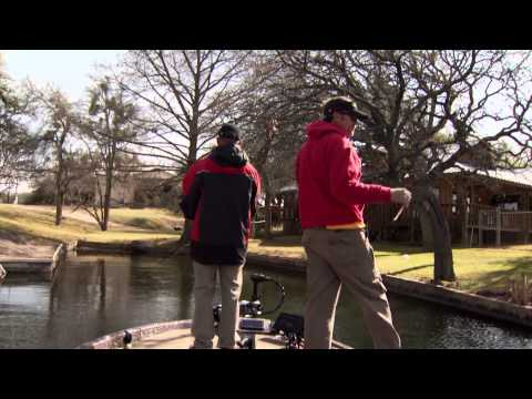 Lake LBJ Winter and Spring Time Bass Fishing - 1501