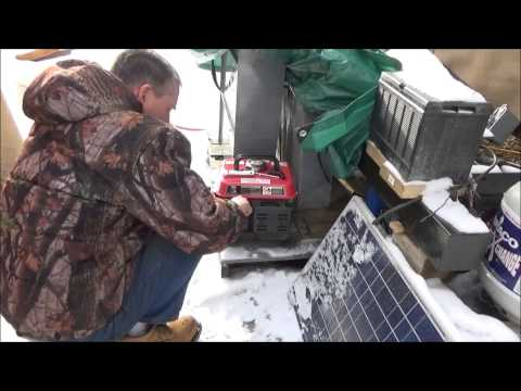 Off Grid Homestead After Blizzard Juno & HF...