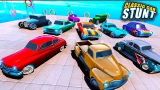 Impossible classic car 🚗  stunts play game -By -The kiran game master .