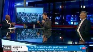 A Billion Lives on South Africa's #1 News Station