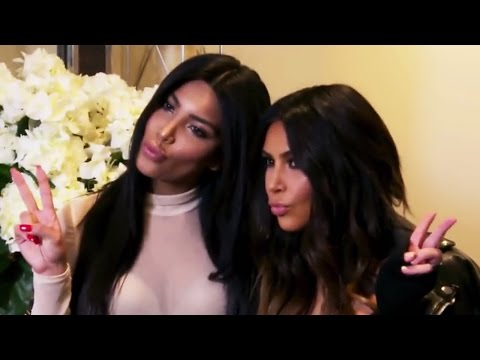 Kim Kardashian's Awkward Run-In With Her Doppelganger On KUWTK