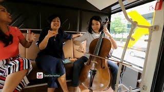 Ibu Veronica Tan Bermain Cello Lagu Nina Bobo