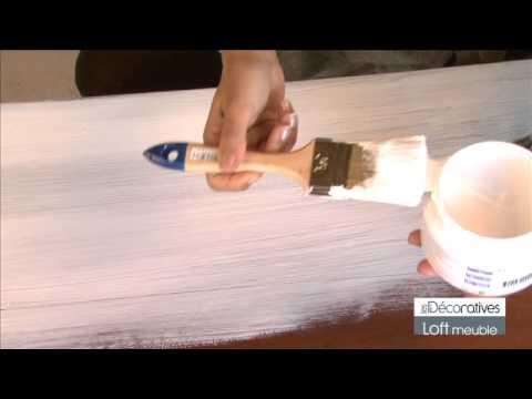Loft meuble youtube - Cire pour meuble peint ...