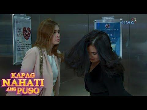 Kapag Nahati Ang Puso: Sampalan sa elevator   Episode 47