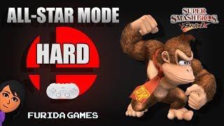 Super Smash Bros. Brawl: Donkey Kong / All-Star Mode (Hard)