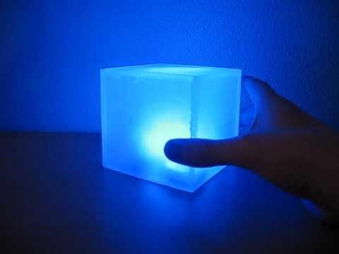 diy led cube instructables youtube. Black Bedroom Furniture Sets. Home Design Ideas