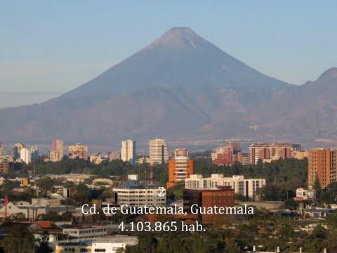 Top 10 Las Mejores Ciudades de Centroamérica.