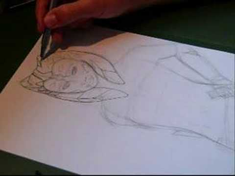 Speed Painting: Ahsoka Tano