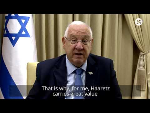 President of Israel Reuven Rivlin