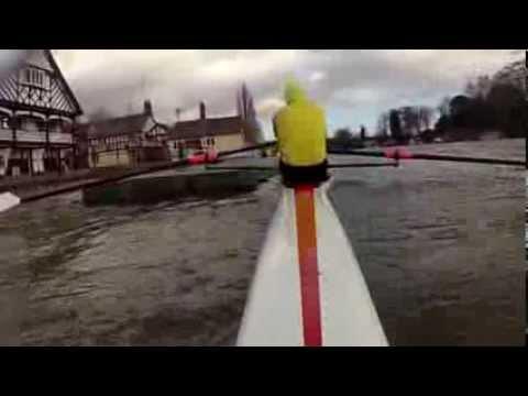 High Water on River Dee - Sculling Academy - Steve Walker