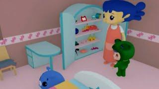 Развивающий мультфильм - Руби и Йо-Йо - Поставь игрушку на место