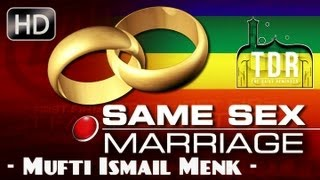 Same Sex Marriage – A Sign Of The Hour? Must Watch ? by Mufti Ismail Menk ? The Daily Reminder