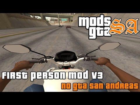 GTA SA - First Person Mod v3