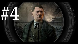 Sniper Elite V2 Walkthrough / Gameplay Part 4 - Train Yard Rumble