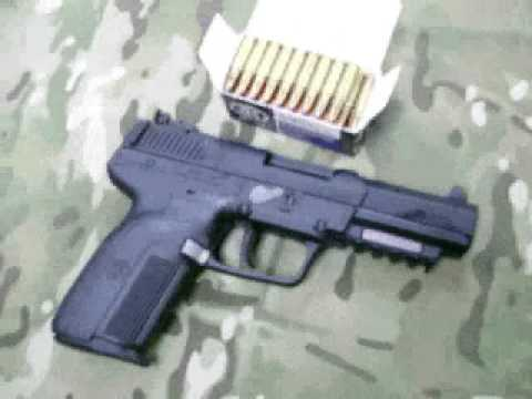 FN Five seveN Pistol Video