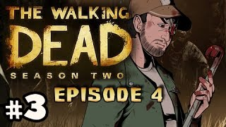 SAVE SARAH? - The Walking Dead Season 2 Episode 4 AMID THE RUINS Walkthrough Ep.3