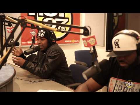 Kendrick Lamar Freestyles With Funkmaster Flex (Part 2)
