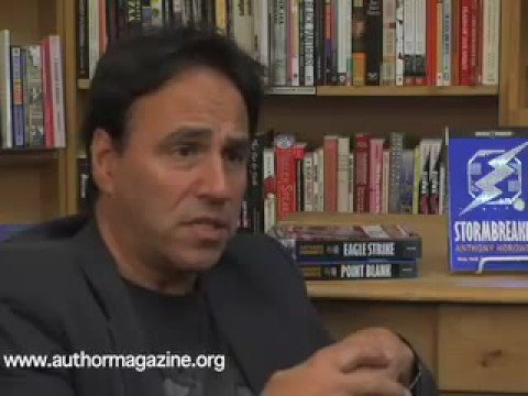 Interview with Author Anthony Horowitz Part 1