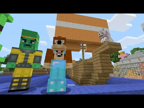 Minecraft Xbox Tiny Boats 222