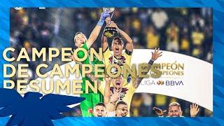 CAMPEN DE CAMPEONES! Resumen Club Amrica 6 00 5 Tigres Todos los goles y penales