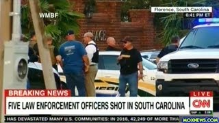 BREAKING! FIVE COPS SHOT IN FLORENCE SOUTH CAROLINA!