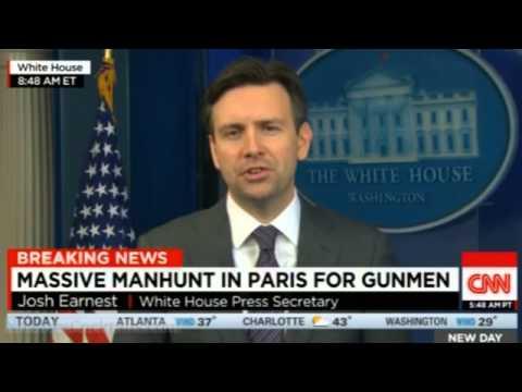 Josh Earnest: President Obama is still going to closed-down Ford plant despite Paris terror attack