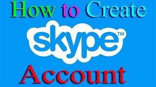 How to open skype account  bangla tutorials....