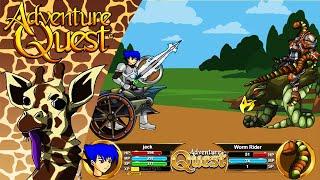 AdventureQuest: Middle School Emo Kid - Kevin the Giraffe