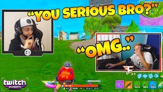 Tfue Reacts to Fortnite Funny Fails and WTF Moments! (Twitch Moments Reaction Ep. 219)